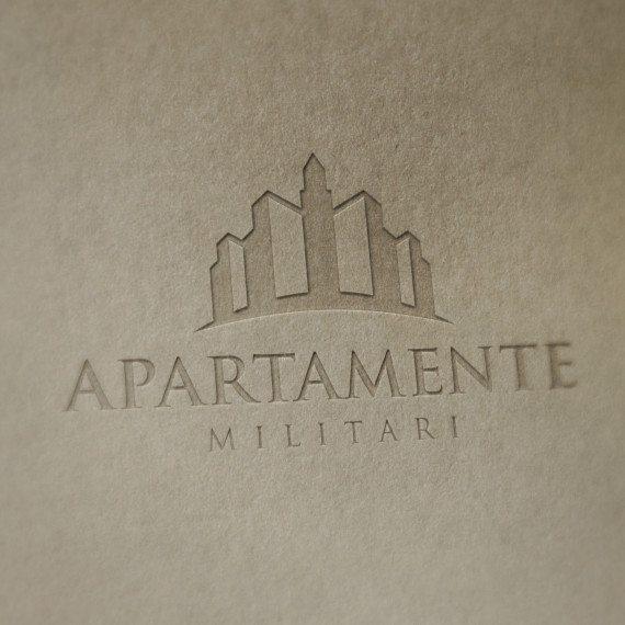 Logo Apartamente in Militari by Alexander Slash