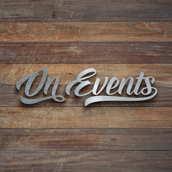 On Events / On Wedding logos